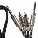CABLE LIGHT RCA/RCA 90CM. ATC-3