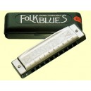 ARMONICA TOMBO FOLK BLUES 1610F B