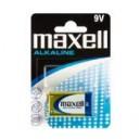 PILA ALCALINA MAXELL 9V (PACK DE 12 PILAS )